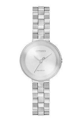 Citizen Watch Bracelet Silver Tone Stainless Steel Part # 59-S06657