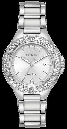 Citizen Watch Bracelet Silver Tone Stainless Steel Part # 59-R00490