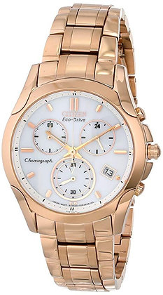 Citizen Watch Bracelet Rose Gold Tone Stainless Steel Part # 59-S04864