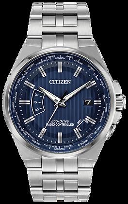 Citizen Watch Bracelet Silver Tone Stainless Steel Part # 59-S07104