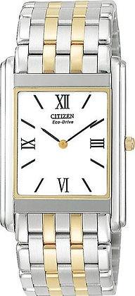 Citizen Watch Bracelet Two Tone Stainless Steel Part # 59-T00087