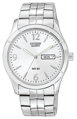 Citizen Watch Bracelet Silver Tone Stainless Steel Part # 59-S05358