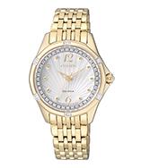 Citizen Watch Bracelet Gold Tone Stainless Steel Signature Part # 59-59-S06220