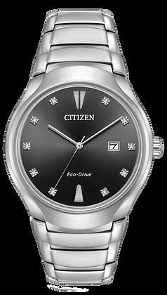 Citizen Watch Bracelet Silver Tone Stainless Steel Part # 59-S06822
