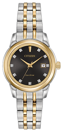 Citizen Watch Bracelet Two Tone Stainless Steel Part # 59-R00412