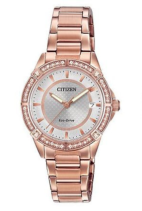 Citizen Watch Bracelet Rose Gold Tone Stainless Steel Part # 59-S06607