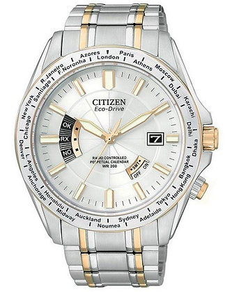 Citizen Watch Bracelet Two Tone Stainless Steel Part # 59-S04252