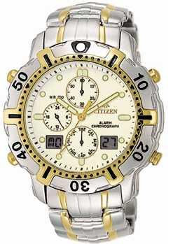 Citizen Watch Bracelet Two Tone Stainless Steel Part # 59-H0731