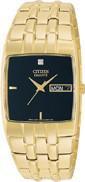 Citizen Watch Bracelet Gold Tone Stainless Steel Part # 59-S00351