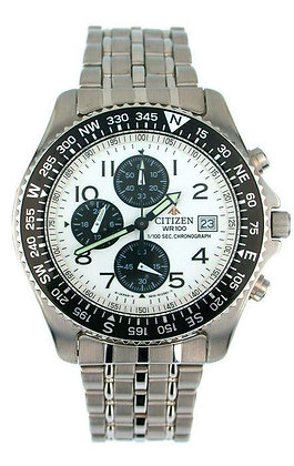 Citizen Watch Bracelet Silver Tone Stainless Steel Part # 59-H0113
