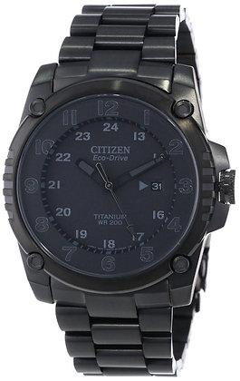 Citizen Watch Bracelet Black Tone Titanium Part # 59-S05037