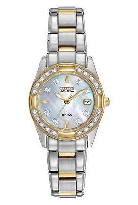 Citizen Watch Bracelet Two Tone Stainless Steel Part # 59-S04655