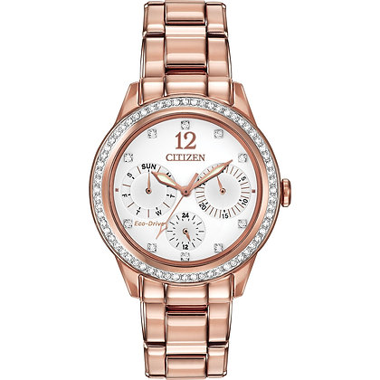 Citizen Watch Bracelet Rose Gold Tone Stainless Steel Part # 59-S05839