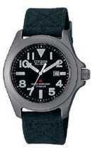 Citizen Watch Strap Black Cloth 18 MM Specialty Part # 59-G0091
