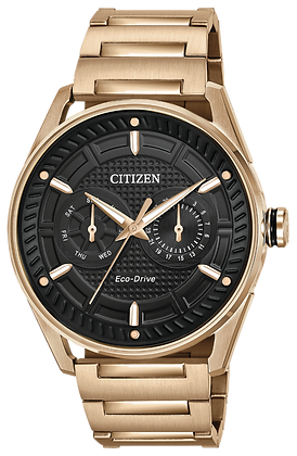 Citizen Watch Bracelet Rose Gold Tone Stainless Steel Part # 59-S06993