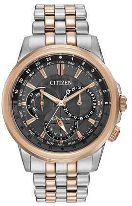 Citizen watch Bracelet Two Tone Stainless Steel Part # 59-R00346