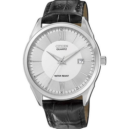Citizen Watch Strap Black Leather 20 MM Part # 59-S51150