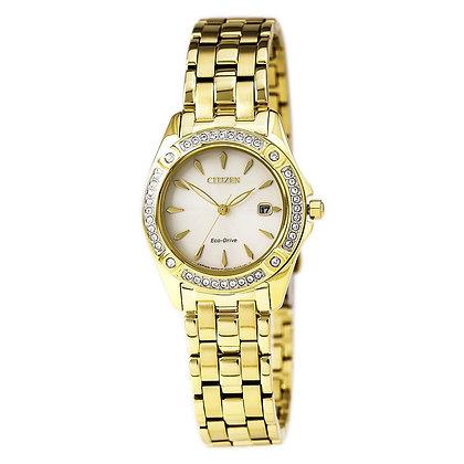 Citizen Watch Bracelet Gold Tone Stainless Steel Part # 59-S06568