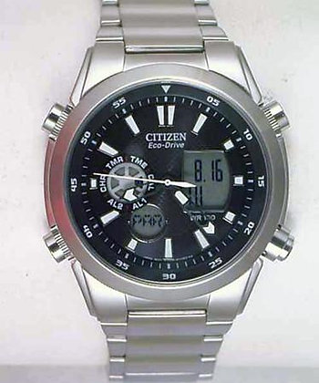 Citizen Watch Bracelet Silver Tone Stainless Steel Part # 59-S04656