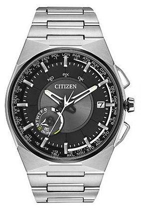 Citizen Watch Bracelet Silver Tone Super Titanium Part # 59-T01017