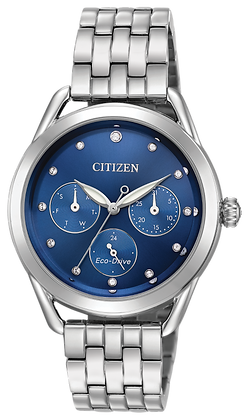 Citizen Watch Bracelet Silver Tone Stainless Steel Part # 59-S06990