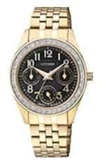 Citizen Watch Bracelet Gold Tone Stainless Steel Part # 59-S05801