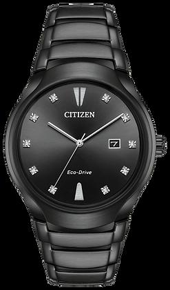 Citizen Watch Bracelet Black Tone Stainless Steel Part # 59-S06983
