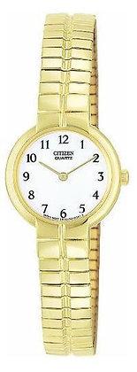 Citizen Watch Bracelet Gold Tone Stainless Steel Part # 59-S02637
