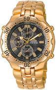 Citizen Watch Bracelet Gold Tone Stainless Steel Part # 59-H0435