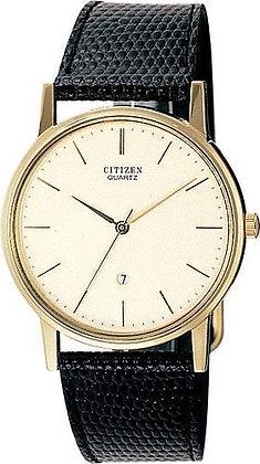 Citizen Watch Strap Black Leather 18 MM Part # 59-S50200