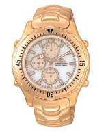 Citizen Watch Bracelet  Gold Tone Stainless Steel Part # 59-H0360