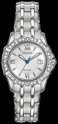 Citizen Watch Bracelet Silver Tone Stainless Steel Part # 59-S06547