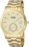 Citizen Watch Bracelet Gold Tone Stainless Steel Part # 59-S03363