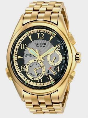 Citizen Watch Bracelet Gold Tone Stainless Steel Part # 59-S02585