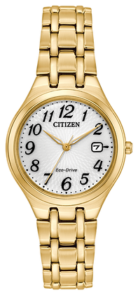 Citizen Watch Bracelet Gold Tone Stainless Steel Part # 59-R00496