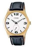 Citizen Watch Strap Black Leather 20 MM Part # 59-S50230