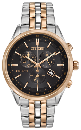 Citizen Watch Bracelet Rose Gold Two Tone Stainless Steel Part # 59-S06083