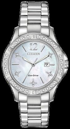 Citizen Watch Bracelet Silver Tone Stainless Steel Part # 59-S07166
