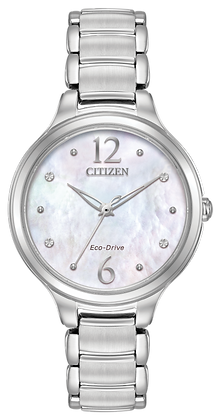Citizen Watch Bracelet Silver Tone Stainless Steel Part # 59-R00473