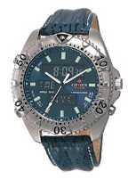Citizen Watch Strap Blue Leather 20 MM Part # 59-E0581