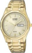Citizen Watch Bracelet Gold Tone Stainless Steel Part # 59-S03385