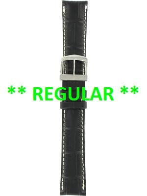 Citizen Watch Band Black Leather 18MM Part # 59-S50281