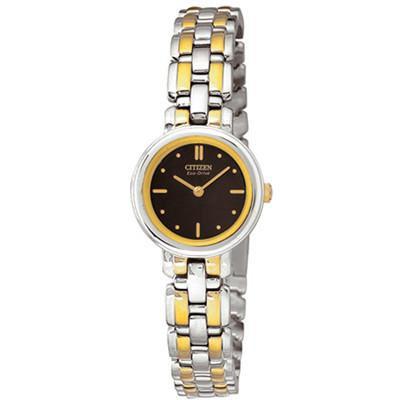 Citizen Watch Bracelet Two Tone Stainless Steel Part # 59-K00392