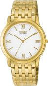 Citizen Watch Bracelet  Gold Tone Stainless Steel Part # 59-T00090