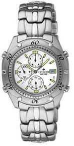 Citizen Watch Bracelet Silver Tone Stainless Steel Part # 59-H1180