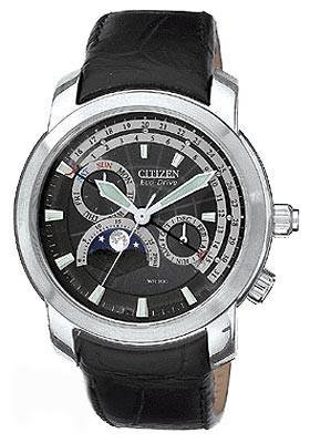 Citizen Watch Band Black Leather 20MM Specialty Part # 59-S0785