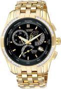 Citizen Watch Bracelet  Gold Tone Stainless Steel Part # 59-S01292