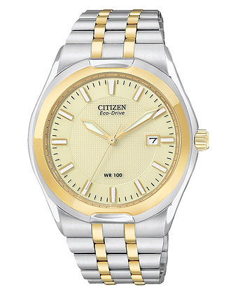 Citizen Watch Bracelet Two Tone Stainless Steel Part # 59-S04505