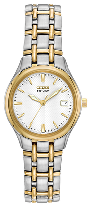 Citizen Watch Bracelet Two Tone Stainless Steel Part # 59-S03125