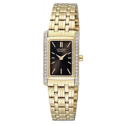 Citizen Watch Bracelet Gold Tone Stainless Steel Part # 59-S06513
